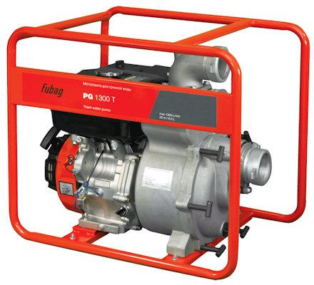Мотопомпа Fubag PG 1300T для грязной воды