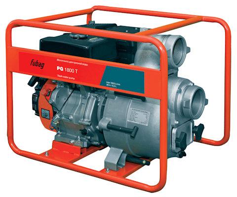 Мотопомпа Fubag PG 1800T для грязной воды