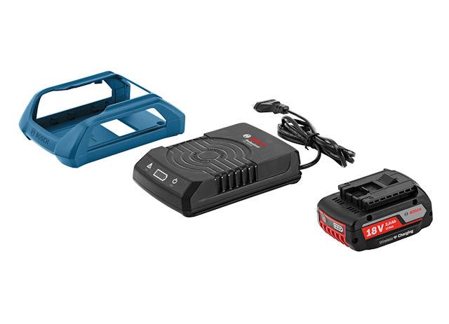 Индукционная подставка GAL 1830 W и модифицированный аккумулятор GBA 18 V 2.0 Ah MW-B